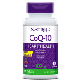Natrol CoQ10 100 мг 30 таб