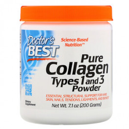 Doctor`s Best Pure Collagen 200 гр